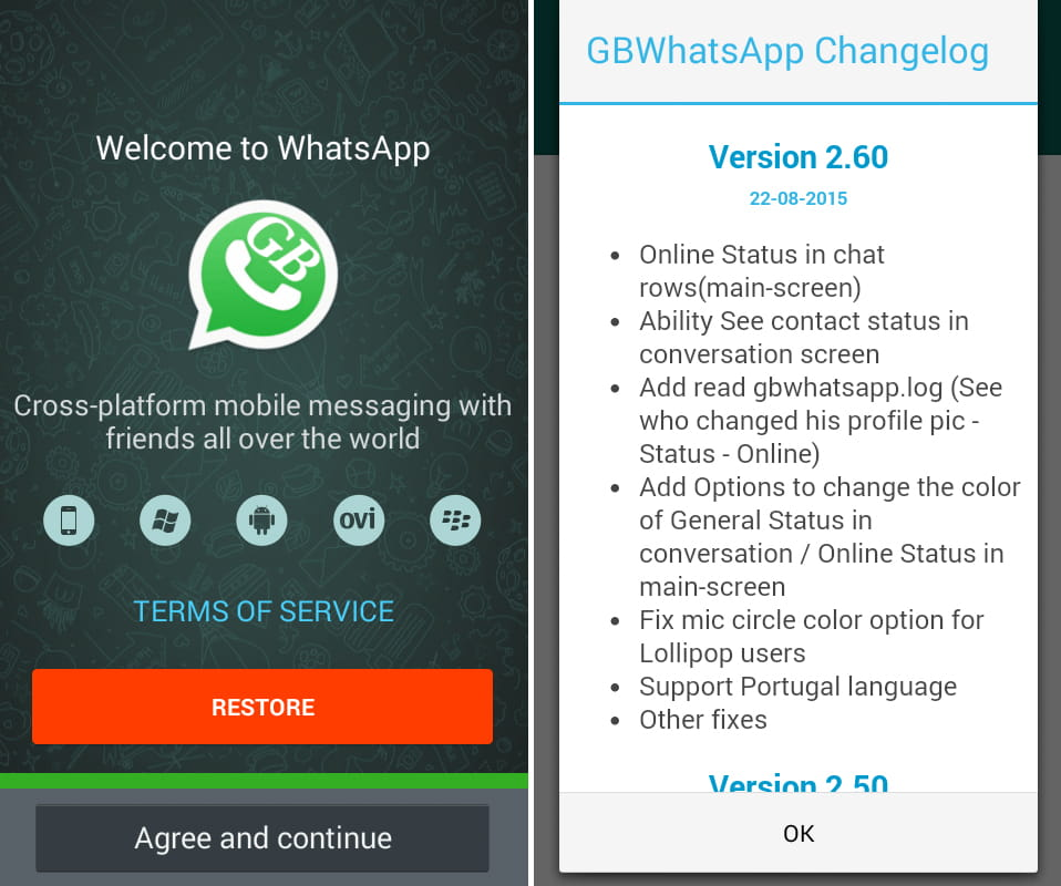 GBWhatsapp Apk for Android