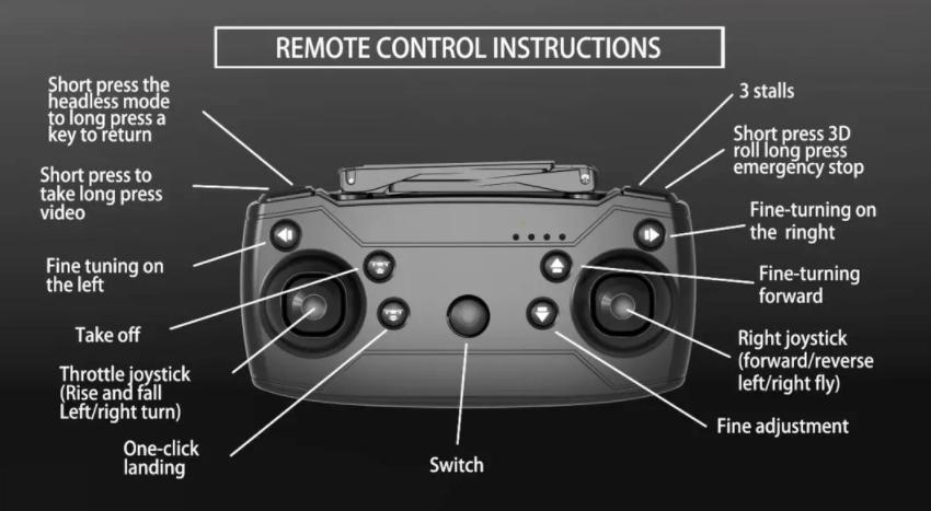 Explore air drone camera